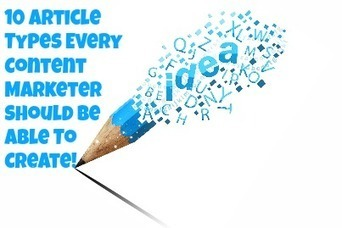 Ten Article Templates Every Content Marketer Should Know | SEO, SMM | Scoop.it