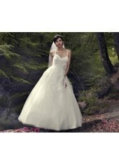 Ball Gown Spaghetti Strap Floor Length Tulle Ivory Wedding Dress H1ly0023 for $990 | Landybridal 2014 wedding dress | Scoop.it