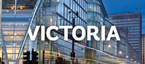 Brand New: New identity for Victoria District | London, UK | Logo | Scoop.it