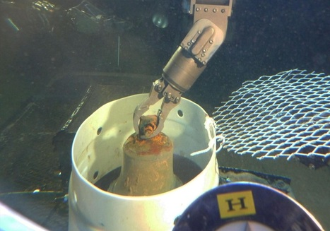 Bronze bell recovered from World War II aircraft-carrying submarine off Oahu coast | ScubaObsessed | Scoop.it