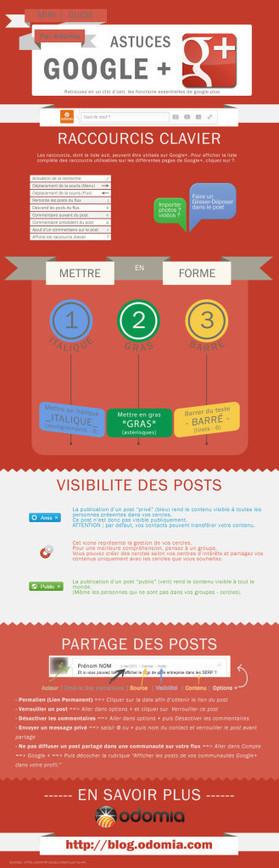 Un tutoriel simple pour Google+ en infographie | Think Digital - Tendances et usages des médias sociaux | Scoop.it
