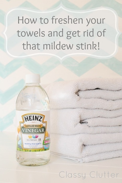 How To Freshen Your Towels And Get Rid Of That Mildew Stink | Fun DIY Creative Ideas and Crafts | Scoop.it