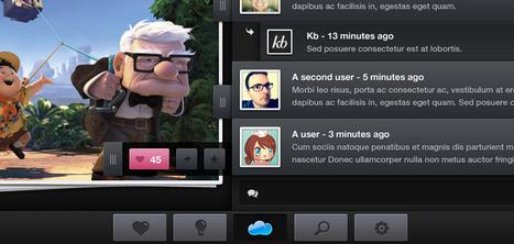 Free PSD: iPad Application Mockup | Premium Pixels | photoshop ressources | Scoop.it