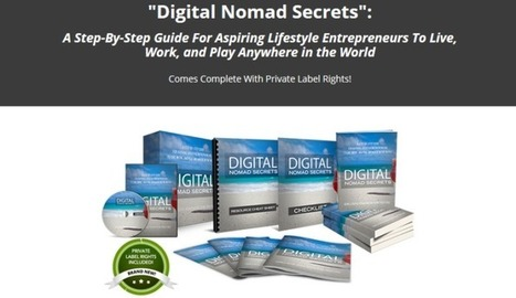 Digital Nomad Secrets Done For You PLR Package by Aurelius Tjin Review – Best Digital Nomad Marketing Industry PLR with Complete Sales Funnel and Done For You PLR with Ebook Guide, Salesletter,Than... | Online Business | Scoop.it