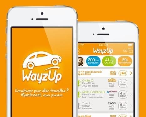 Wayz Up : le co-voiturage dynamique domicile-travail   CARFUTUR.COM   Mobilité   Scoop.it