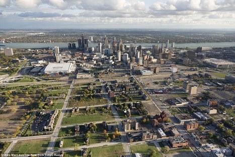La petite île urbaine du centre-ville de Detroit, perdu dans les grands espaces d'une ville dépeuplée | strategies urbaines | Scoop.it