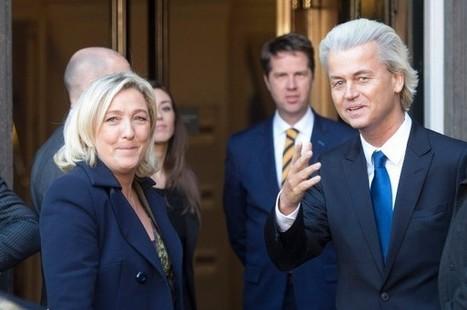 Les Inrocks - Les alliances fragiles des partis d'extrême droite européens | Union Européenne, une construction dans la tourmente | Scoop.it