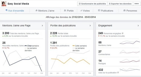 Statistique Facebook : les 6 stats les plus importantes à suivre – part 1 | Institut de l'Inbound Marketing | Scoop.it