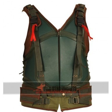 The Dark Knight Rises Cosplay Bane Leather Vest For Sale | Film Star Jackets | Scoop.it