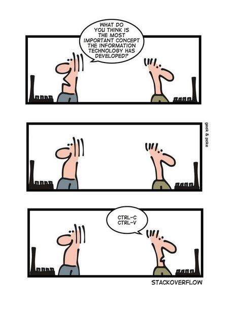 Geek And Poke: Stackoverflow | fun for geeks | Scoop.it