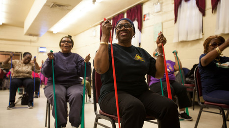 Can Exercising Seniors Help Revive A Brooklyn Neighborhood? | Hope | Scoop.it