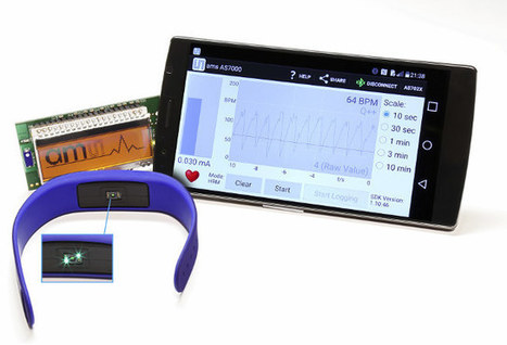 AMS AS7000 Biosensor is Designed for Strapless Optical Heart Rate Monitors | Embedded Systems News | Scoop.it