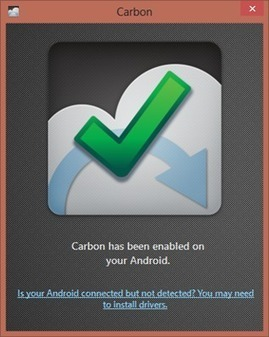 Backup and Sync Apps across Multiple Android Devices with Carbon | TablettesEdu | Scoop.it