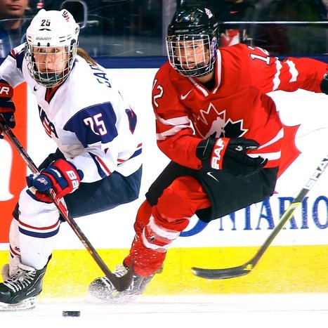 USA vs. Canada Women's Hockey is the Best Rivalry You've Never Heard Of | Everything Hockey | Scoop.it