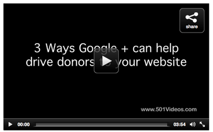 3 Ways Google Plus can Drive Donors to Your Nonprofit's Website | SM4NPGoogleplus | Scoop.it