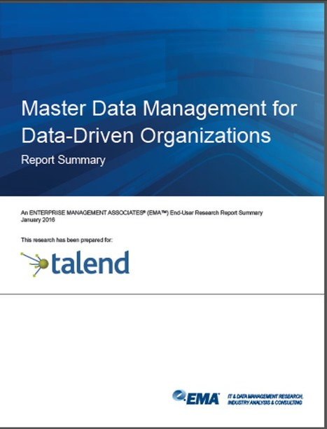 Lessons Learned at Ellie Mae: MDM Adoption & Best Practices | Data Governance and MDM | Scoop.it