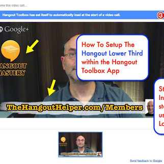 How to Setup the Hangout Lower Third - step by step | Ronnie Bincer The Hangout Helper | YouTube Tips and Tutorials | Scoop.it