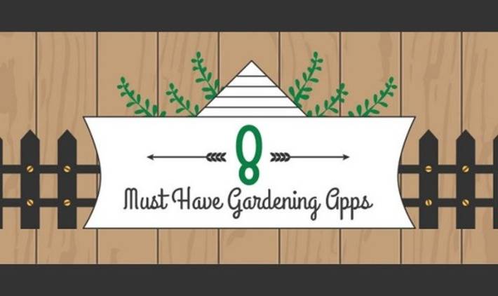 An infographic of 8 must-have gardening apps | Garden apps for mobile devices | Scoop.it