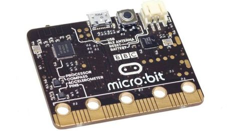 BBC Micro Bit computer's final design revealed | BBC News | Cultibotics | Scoop.it