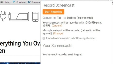 Screencastify Records Action in Your Browser Tab | Beautiful web design and logo inspirations | Scoop.it