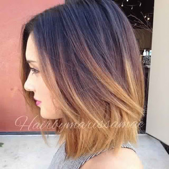 7 Ombre Hair for Short Hair ~ short hairstyles women | Hair Care & Hairstyles | Scoop.it
