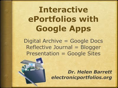 ePortfolios with GoogleApps  by Dr. Helen Barrett | Docentes y TIC (Teachers and ICT) | Scoop.it