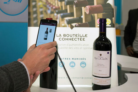 Avec WID, la bouteille de vin devient connectée | Mass marketing innovations | Scoop.it