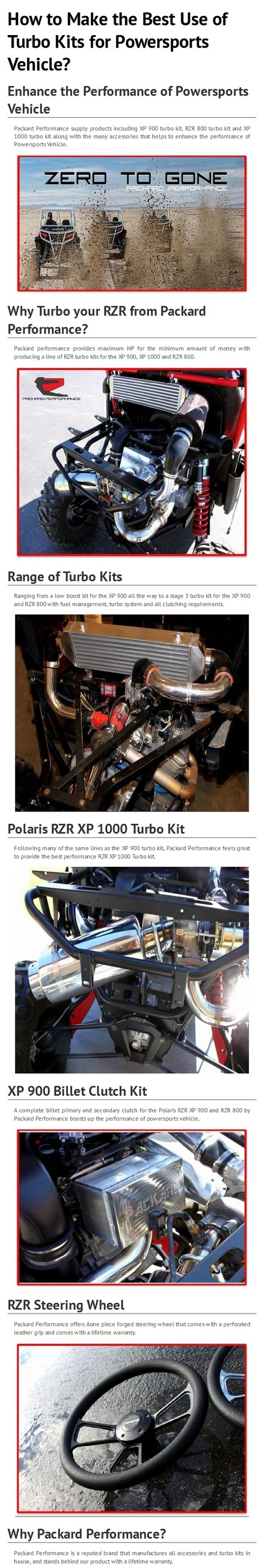 Maintain Your Power Sports Accessories with Zero Maintenance By www.packardperformance.com | Packard Performance | Scoop.it
