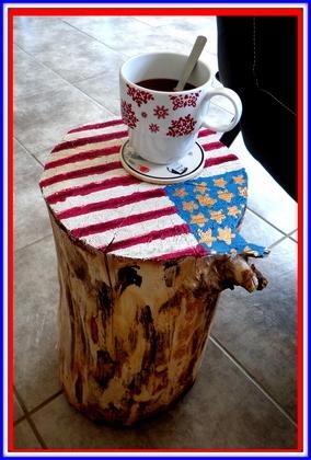 Réaliser une table de chevet à partir d'un tronc d'arbre #pasàpas #DIY | Best of coin des bricoleurs | Scoop.it