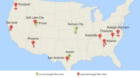 Google Fiber chooses nine metro areas for possible expansion | Entrepreneurship, Innovation | Scoop.it