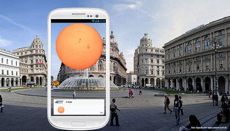 Universo in Città, il Sistema Solare visibile per le vie di Genova | InTime - Social Media Magazine | Scoop.it