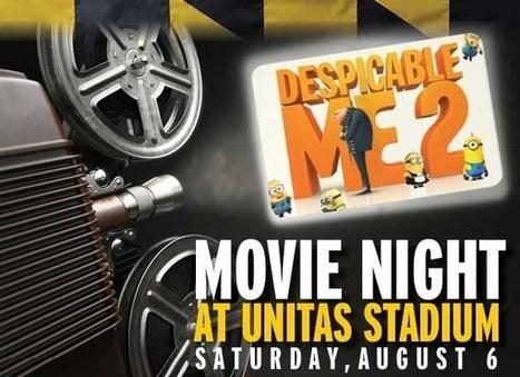 Movie Night at Unitas Stadium | Events of Interest to NeighborSpace Followers | Scoop.it