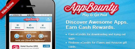 Discover Apps and Earn Cash Rewards with AppBounty iOS App | Best iPhone Apps and iPad Apps | Scoop.it