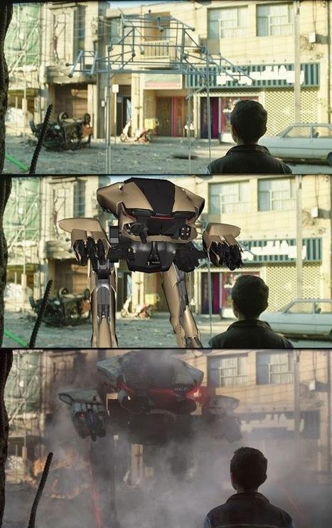 50 εκπληκτικά πριν και μετά τα οπτικά εφέ από αγαπημένες σας ταινίες και σειρές | omnia mea mecum fero | Scoop.it