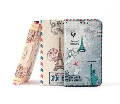 Vintage Travel Paris London New York Book Diary Phone Case | Best Smartphone Cases | Scoop.it