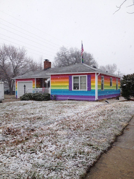 The House Across From the Westboro Baptist Church Is Now a Rainbow-Colored Gay-Pride Center | Neighborhoods | Scoop.it
