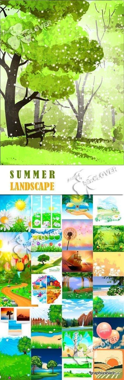Summer landscape | DesignFeed | Scoop.it