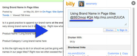 2 Ideas of Using Hashtags for On-Page Optimisation | Online Marketing Resources | Scoop.it
