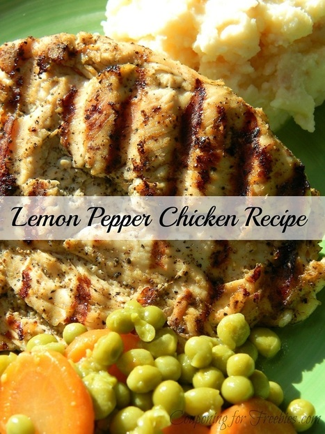 Lemon Pepper Chicken Recipe That Is #LowFat & #GlutenFree | The Man With The Golden Tongs Goes All Out On Health | Scoop.it
