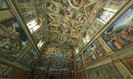 La Chapelle Sixtine (Michel Ange) : visite virtuelle en 3D au plus près des détails | Groupe de latinistes : Recherches | Scoop.it