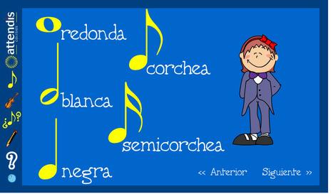 El rincón de la música. Quiquelandia. La web infantil de Attendis | Las TIC y la Educación | Scoop.it
