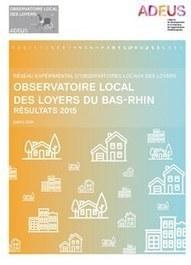 Strasbourg - Observatoire local des loyers du Bas-Rhin, Résultat 2015 | Dernières publications des agences d'urbanisme | Scoop.it