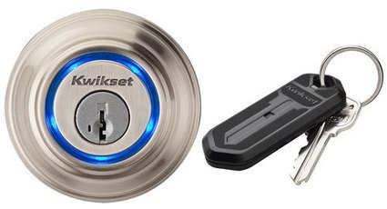 Video: Kwikset Kevo Bluetooth Door Lock Controlled from your Smartphone | Automated Home | Open Source Hardware News | Scoop.it
