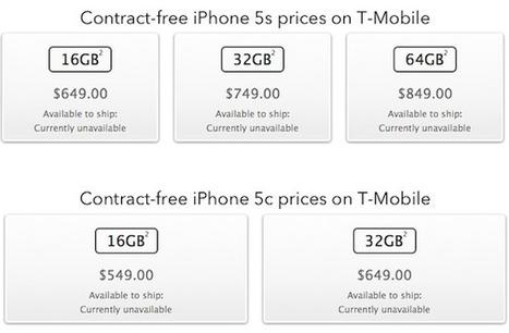 سعر iPhone 5s و iPhone 5c مع و بدون العقد - نقطة تقّنية | Blogger Archive | Scoop.it