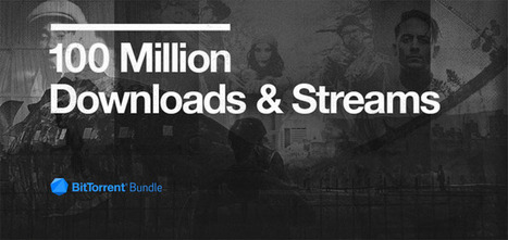 BitTorrent reaches 100m bundle downloads and streams milestone | Musicbiz | Scoop.it