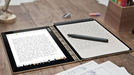 Lenovo Yoga Book copies handwriting off paper notepads - BBC News | IT as a Utility Digital Economy Network | Scoop.it