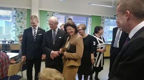 Kuningatar Silvia innostui oppilaan iPad-sovelluksesta – adjutantit kehottivat ... - YLE | Tablet opetuksessa | Scoop.it