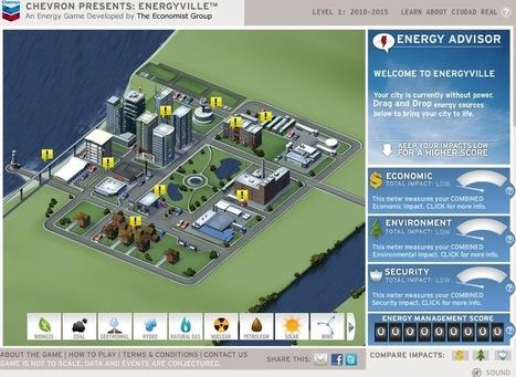 Un juego sobre energías: Energyville | Infraestructura Sostenible | Scoop.it