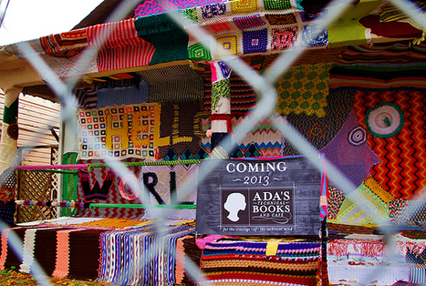 10 Ambitious Yarn Bombing Projects | Vidi Fashion Factory (VIFF) | Scoop.it