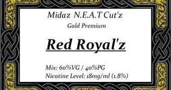 The vaping giraffe: Juice Review: Red Royal'z, Blue Cut'z No. 3 and Drummer'z Cut'z by Midaz N.E.A.T Cut'z   Vaping   Scoop.it